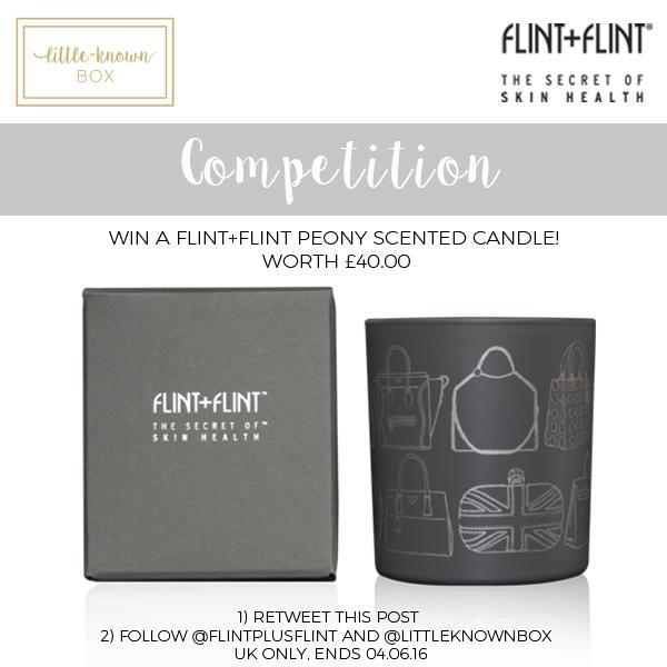 Flint+Flint Social Media Giveaway with Little-Known Box!