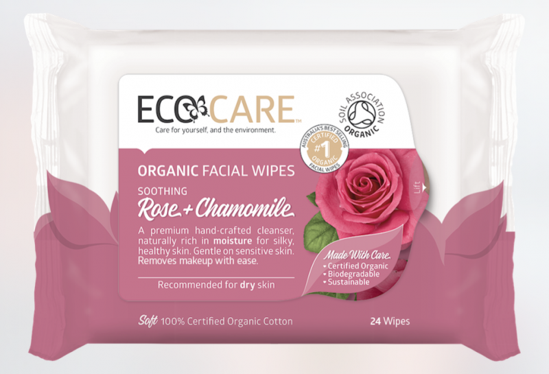 ECOCARE Facial Wipes