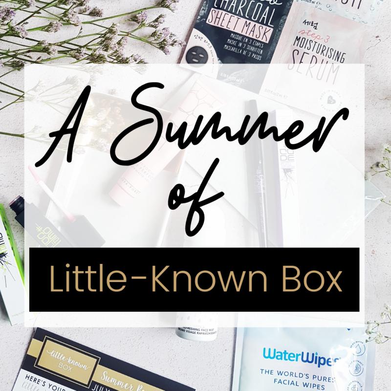 Summer 2019 Little-Known Box Recap